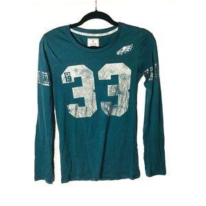 PINK VS 5th + Ocean long sleeve Eagles shirt Sz. S
